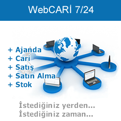 WebCARİ 7/24 Online Cloud
